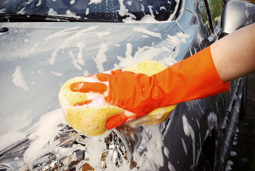 при какой температуре можно мыть авто